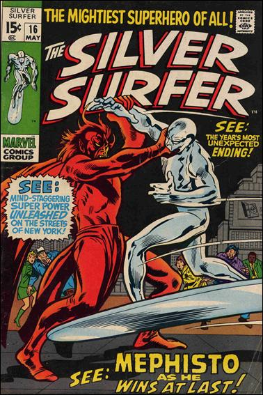 Silver Surfer (1968) 16-A by Marvel