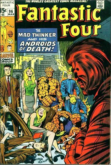 Fantastic Four (1961) 96-A by Marvel