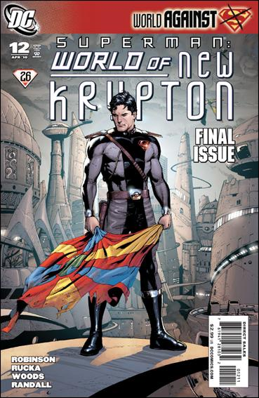 Superman: World of New Krypton 12-A by DC