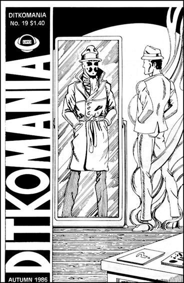 Ditkomania 19-A by Bill Hall &amp; Rob Imes
