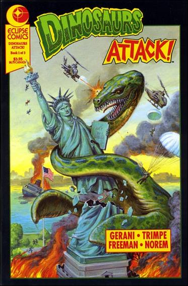 Dinosaurs Attack! (1991) 1-A by Eclipse