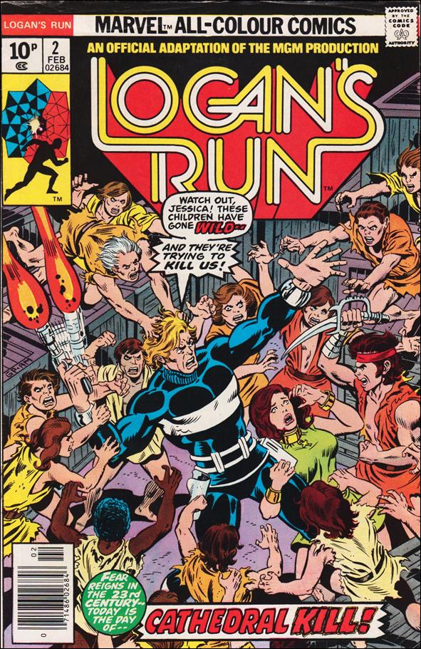 Logan's Run (1977) 2-B by Marvel