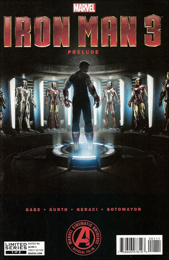 Marvel's Iron Man 3 Prelude 1-A by Marvel