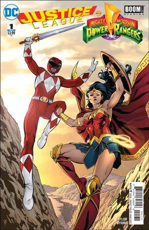 Justice League/Power Rangers 1-G