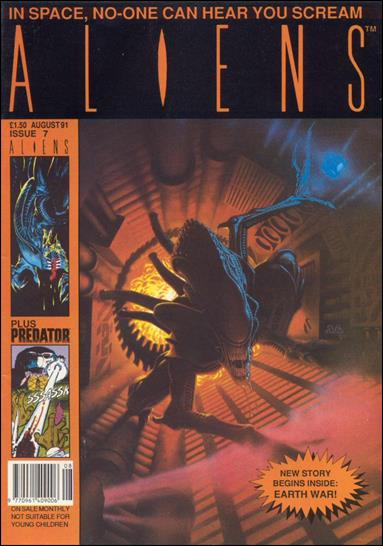 Aliens (UK) (1991) 7-A by Trident Comics