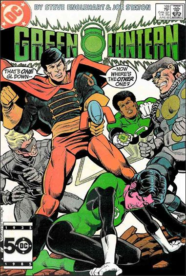 Green Lantern (1960) 189-A by DC
