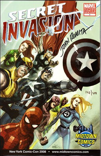 Secret Invasion 1-J by Marvel