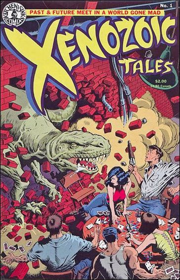 Xenozoic Tales 1-A by Kitchen Sink