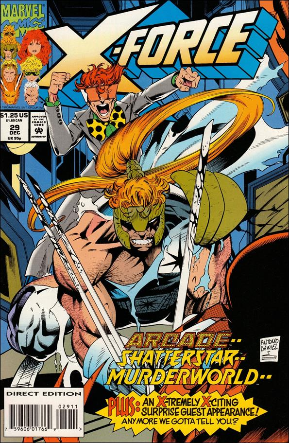 X-Force (1991) 29-A by Marvel