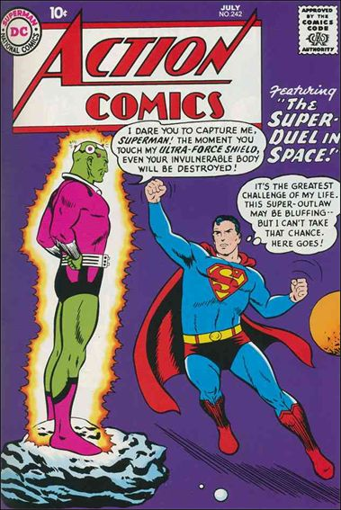 Action Comics (1938) 242-A by DC