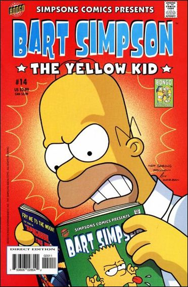 Simpsons Comics Presents Bart Simpson 14-A by Bongo