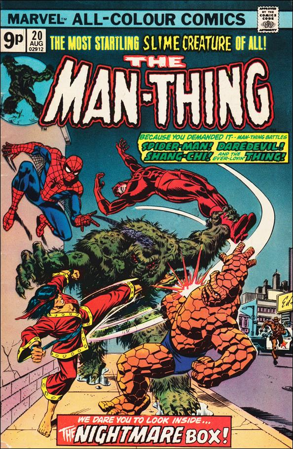 Man-Thing (1974) 20-B by Marvel