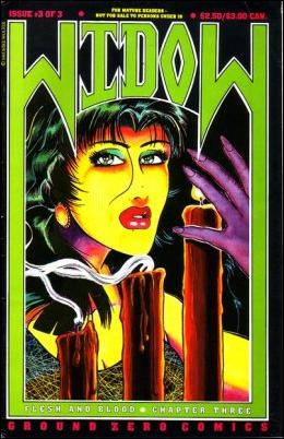 Widow (1992) 3-A by Ground Zero Comics