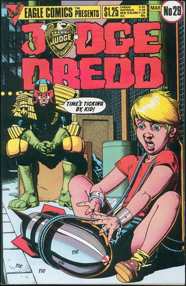 Judge Dredd (1983) 29-A by Eagle