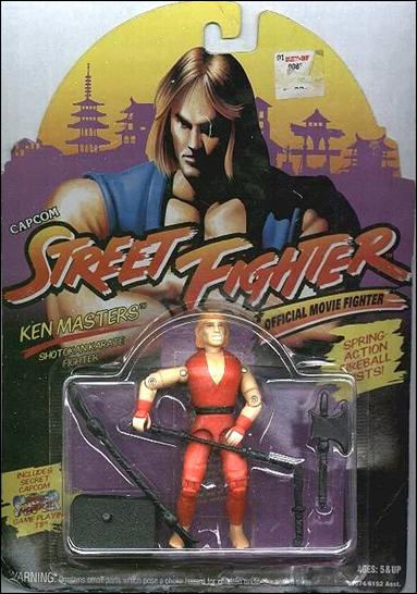 Street Fighter: Official Movie Fighters Ken Masters by Hasbro