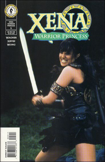 Xena: Warrior Princess (1999) 5-B by Dark Horse