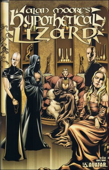 Alan Moore's Hypothetical Lizard 2-B by Avatar Press