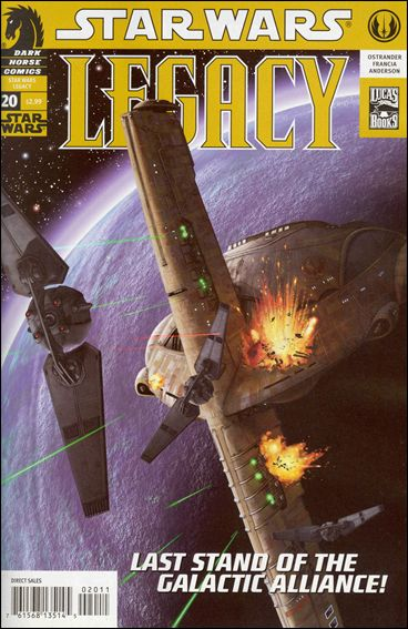 Star Wars: Legacy (2006) 20-A by Dark Horse