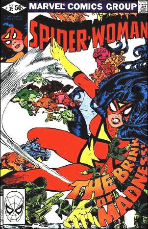 Spider-Woman (1978) 35-A by Marvel