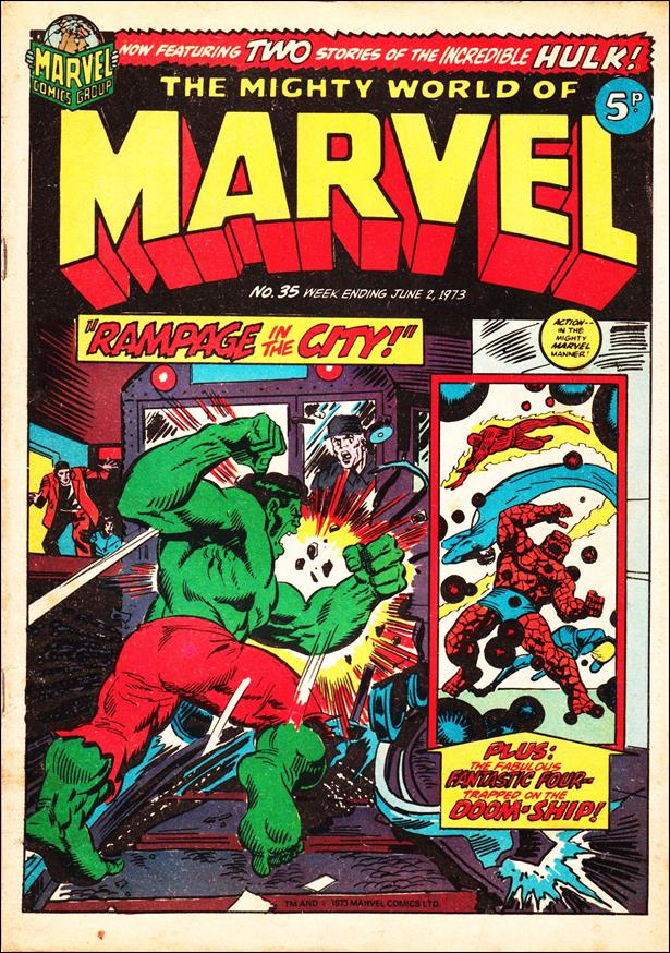 Mighty World of Marvel (UK) (1972) 35-A by Marvel UK