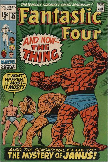 Fantastic Four (1961) 107-A by Marvel
