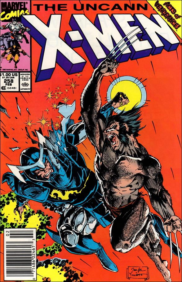 Uncanny X-Men (1981) 258-A by Marvel