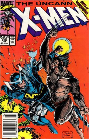 Uncanny X-Men (1981) 258-A