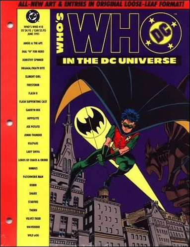 Who's Who In the DC Universe 10-A by DC