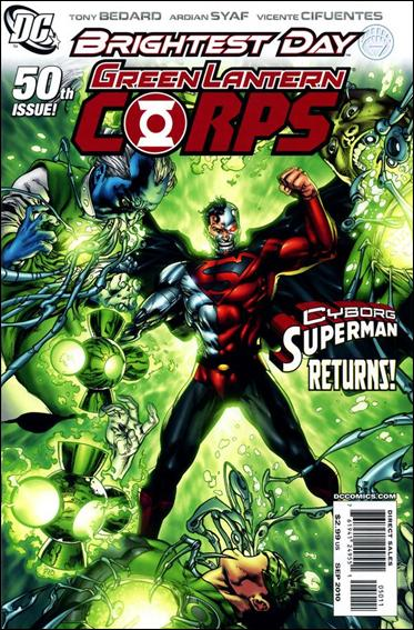 Green Lantern Corps (2006) 50-A by DC