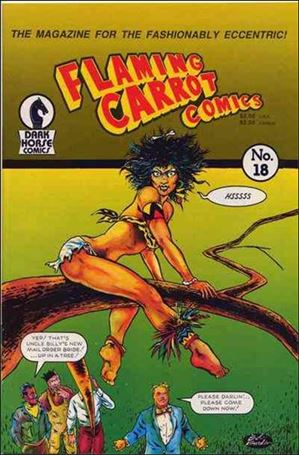 Flaming Carrot Comics (1984) 18-A
