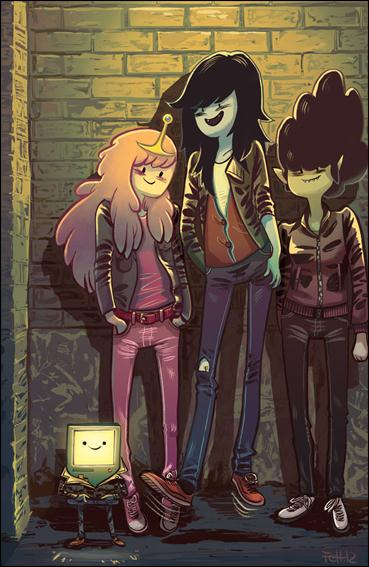 Adventure Time: Marceline and the Scream Queens 4-D by Kaboom!