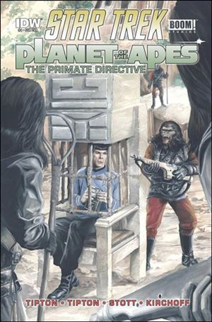 Star Trek/Planet of the Apes: The Primate Directive 4-B