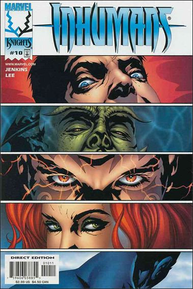 Inhumans (1998) 10-A by Marvel