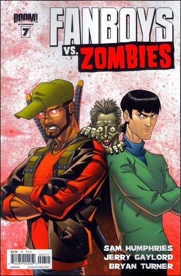 Fanboys vs Zombies 7-B by Boom! Studios
