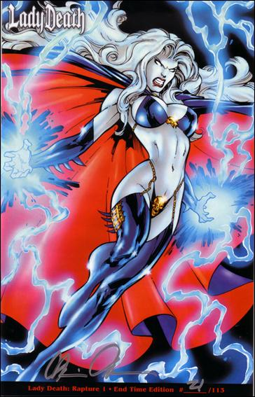 Lady Death: The Rapture 1-DA by Chaos! Comics