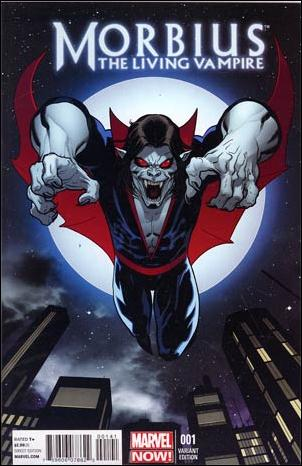 Morbius: The Living Vampire (2013) 1-B by Marvel