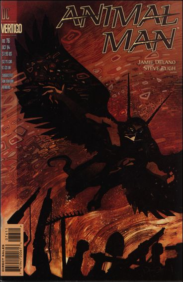 Animal Man (1988) 76-A by Vertigo