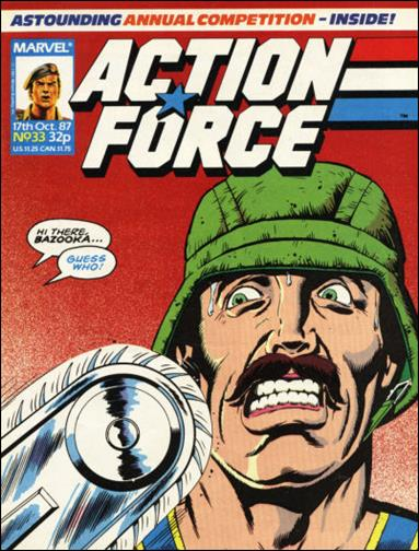 Action Force (UK) 33-A by Marvel UK