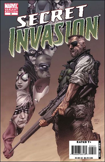 Secret Invasion 3-B by Marvel