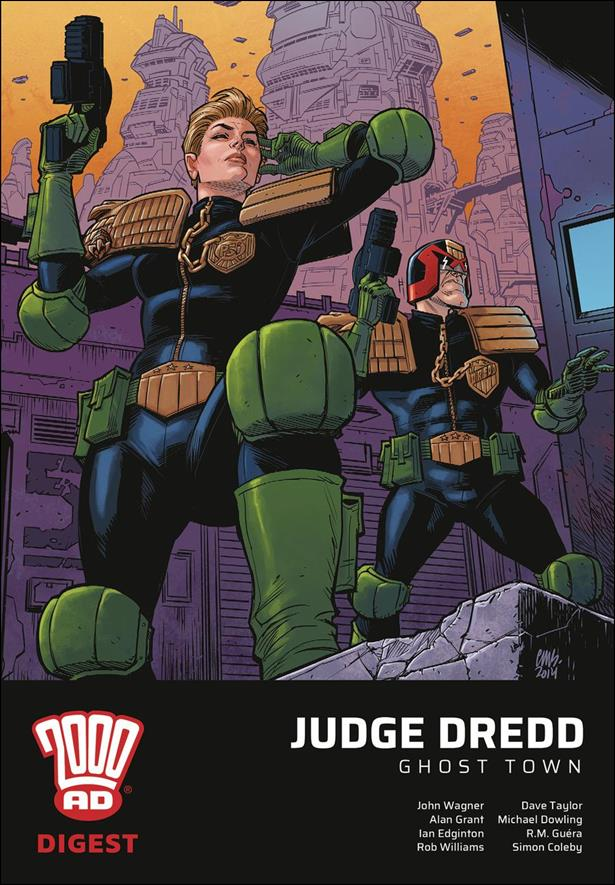 2000 AD Digest: Judge Dredd - Ghost Town nn-A by Rebellion