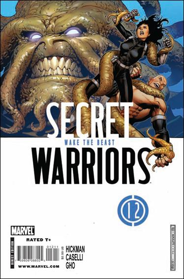 Secret Warriors 12-A by Marvel
