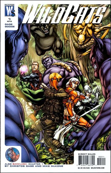 Wildcats (2008) 3-A by WildStorm
