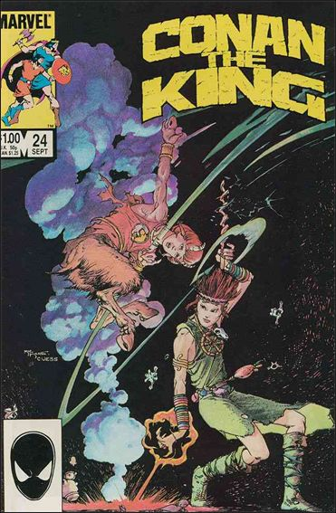 Conan the King 24-A by Marvel