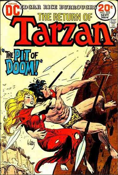 Tarzan (1972) 223-A by DC