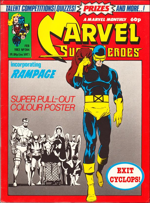 Marvel Superheroes (UK) 394-A by Marvel UK