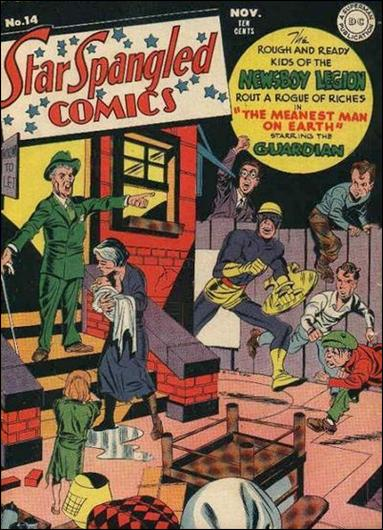 Star Spangled Comics (1941) 14-A by DC