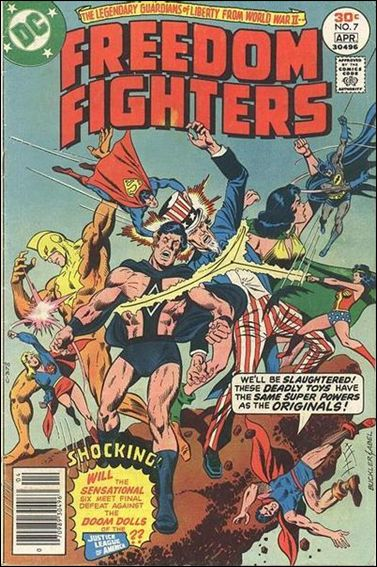 Freedom Fighters (1976) 7-A by DC