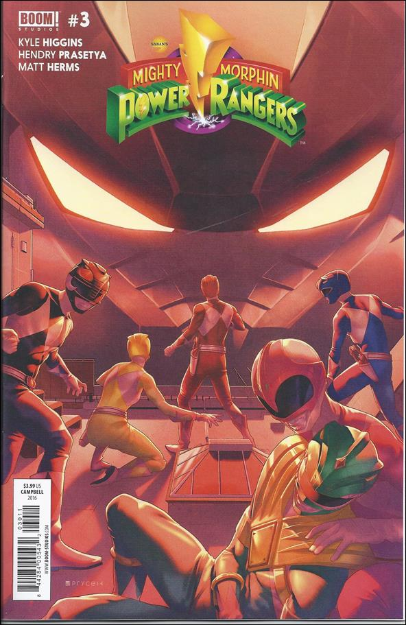 Mighty Morphin Power Rangers 3-A by Boom! Studios
