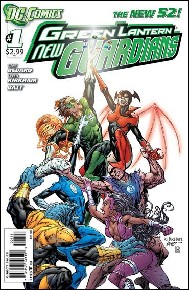 Green Lantern: New Guardians  1-A by DC