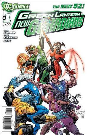 Green Lantern: New Guardians  1-A